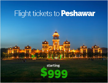 Flights to Pesawar
